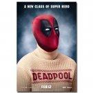 Deadpool Wade Wilson Superheroes Movie Poster 32x24