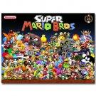 Super Mario Bros Game Poster 32x24