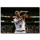 Allen Iverson NO 3 MVP Basketball Star Poster 32x24