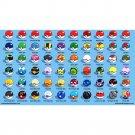 Pokemon Monster Balls Anime Poster Print 32x24