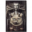 Sil HR Giger SPECIES Movie Art Poster Print 32x24
