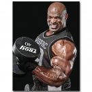 Ronnie Coleman Bodybuilder Fitness Poster 32x24