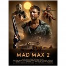 Mad Max 2 Australia Movie 1981s Art Poster 32x24