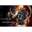 Ray Lewis NO 52 NFL Football Sports Poster 32x24