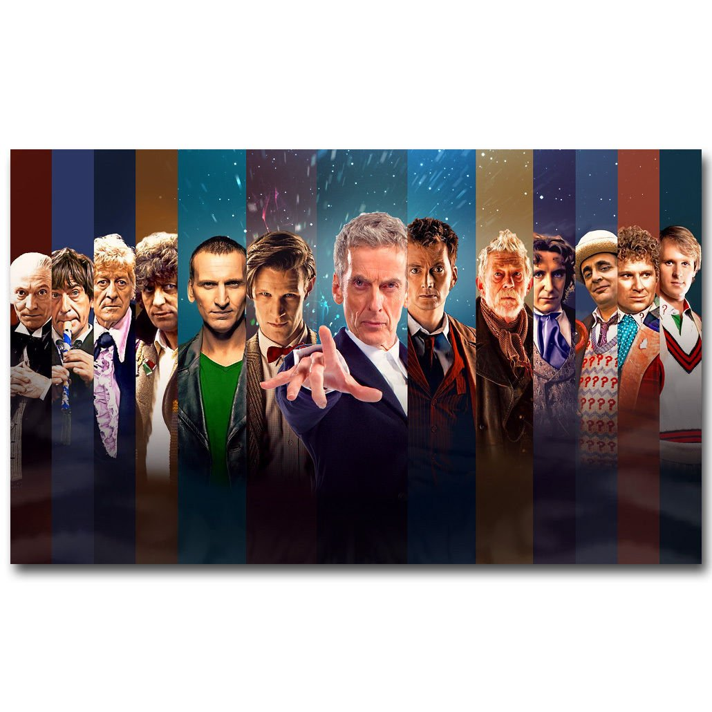 Doctor Who Dw Tv Series Art Poster Print 32x24