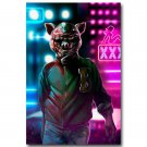 Hotline Miami Hot Game Poster 32x24