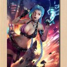 Home Decor League Of Legends Game Sexy Heroes Jinx Wall Poster 32x24