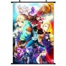 Fate Zero Fate Stay Night Rin Altria Anime Poster Wall 32x24