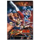 Street Fighter V Game Poster Chun Li CAMMY Ken 32x24