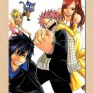 Fairy Tail Natsu Erza Anime Poster Wall 32x24