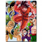 Goku Dragon Ball Z Anime New Art Wall Poster Home Decor 32x24