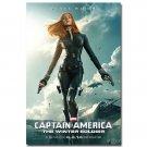 Black Widow Captain America 2 Winter Solder Movie Art Poster 32x24