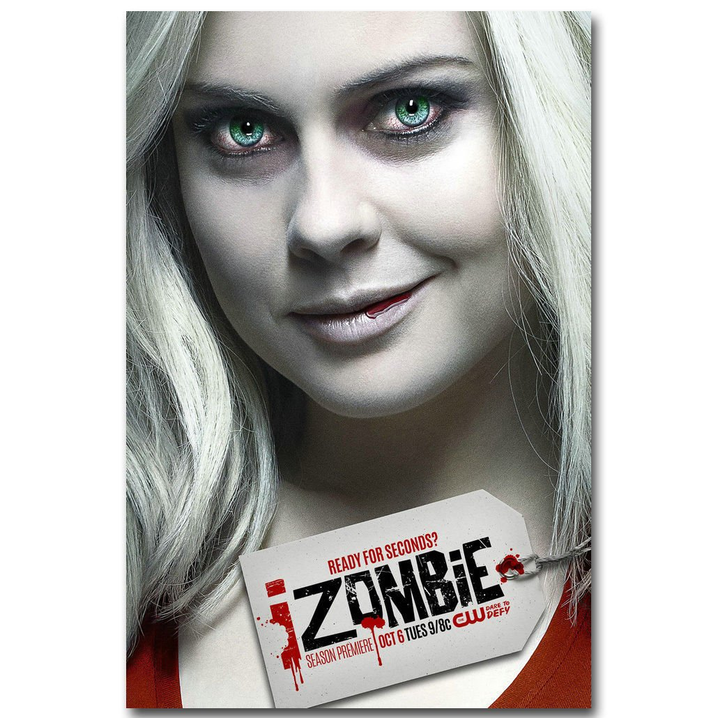 Izombie New TV Series Art Poster 32x24