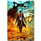 Devil May Cry New Game Poster Print DMC Dante 32x24
