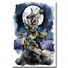 The Nightmare Before Christmas Movie Landscape Poster 32x24