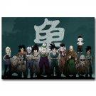 Dragon Ball Z Characters Anime Poster Goku Piccolo Tien Shinhan 32x24