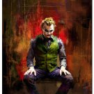 Joker The Dark Knight Rise Movie Art Poster Batman 32x24
