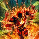 The Flash Superheroes TV Series Comic Art Poster 32x24