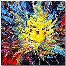 Pikachu Pokemon Anime Art Poster Print 32x24