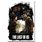 The Last Of Us Game Art Poster Ellie Joel 32x24