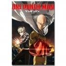 ONE PUNCH MAN Japanese Anime Poster Saitama Genos 32x24