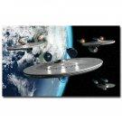 Star Trek Movie Art Poster Print Universe Space 32x24