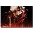 Devil May Cry New Game Poster Print DMC Vergil 32x24