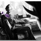 Joker Batman Arkham City Origin Game Art Poster 32x24