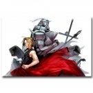 Fullmetal Alchemist Anime Wall Poster Edward Elric 32x24