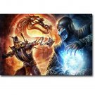 Mortal Kombat X Fighting Games Poster 32x24