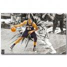 Tim Duncan NO 21 San Antonio Spurs MVP NBA Poster 32x24