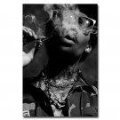 Wiz Khalifa Smoking Hot Rap Music Star Art Poster 32x24