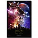 Doctor Who Star Wars TV Series Art Poster 32x24