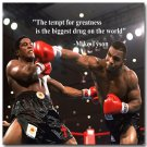 Mike Tyson Boxing Champion Motivational Quotes Poster 32x24