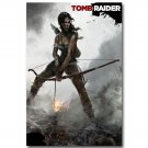 Tomb Raider Lara Croft Game Art Poster Wall Decor 32x24