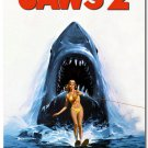 Jaws 2 Classic Movie Art Poster Pictures 32x24