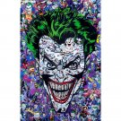 Joker Batman DC Superheroes Comic Poster 32x24