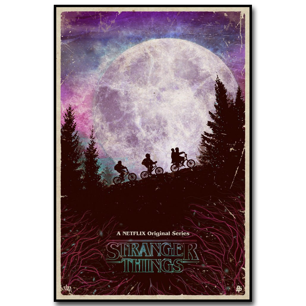 Stranger Things New TV Series Art Poster 32x24