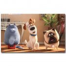 The Secret Life Of Pets Cartoon Movie Poster 32x24