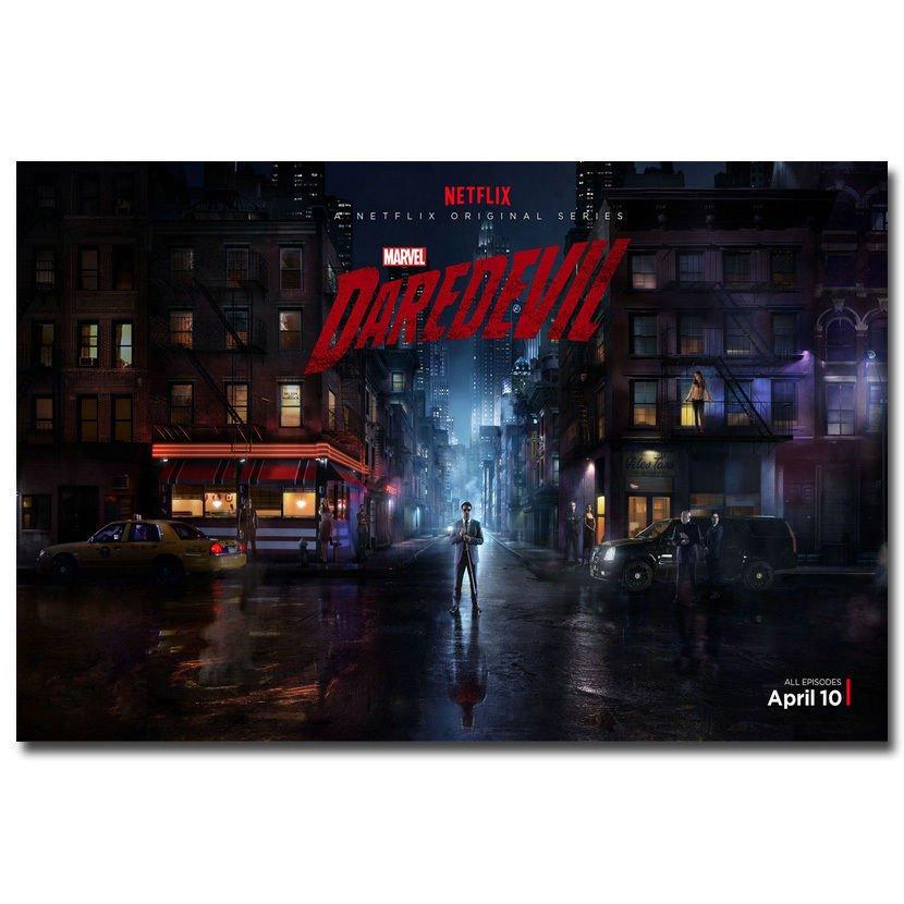 Daredevil Hot 2 TV Series Art Poster 32x24