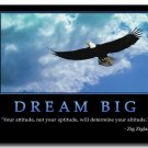 Dream Motivational Quotes Art Poster Home Decor 32x24