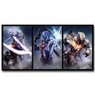 Destiny 2 The Taken King Game Poster Warlock Titan Hunter 32x24