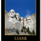 Leader Motivational Quotes Art Poster Workplace Decor 32x24