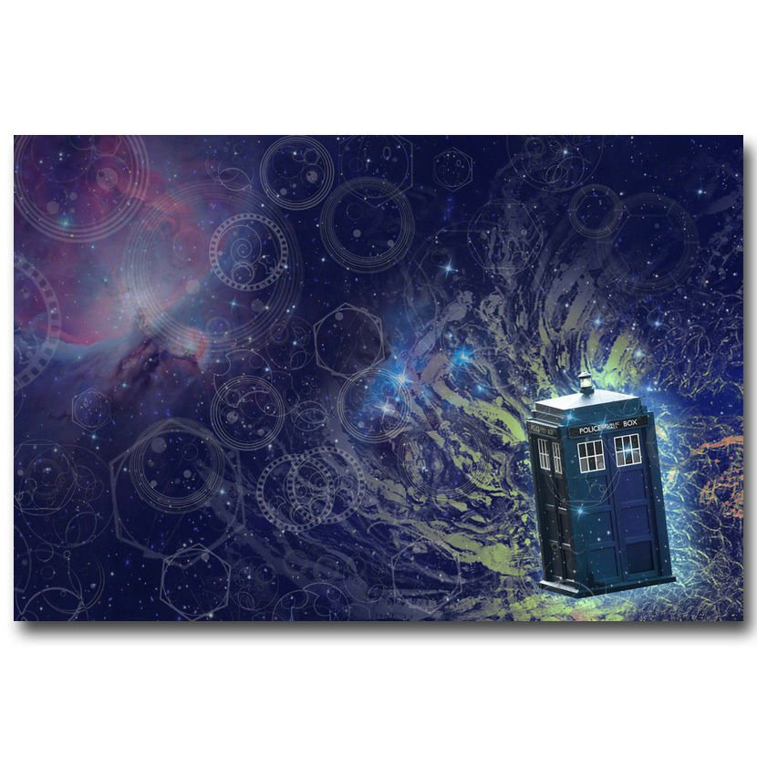 Doctor Who Season 9 TV Series Art Poster Outer Space 32x24