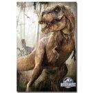 Jurassic World Dinosaur Monster Movie Art Poster 32x24