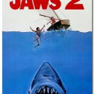 Jaws 2 Classic Movie Film Poster Pictures 32x24