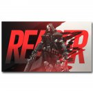 Overwatch OW New Game Poster Print Reaper Guns 32x24