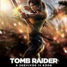 Tomb Raider Lara Croft Game Art Wall Poster Tourniquet Render 32x24
