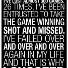 Why I Succeed Michael Jordan Motivational Quotes Poster 32x24