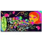 Rick And Morty Cartoon Poster Trippy 32x24